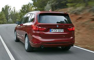 nieuwe BMW 2 serie Gran Tourer