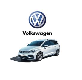 nieuwe volkswagen touran logo
